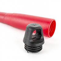 Лопата огородная 330x94 мм с полой пластмассовой рукояткой под удлинитель INTERTOOL FT-0011