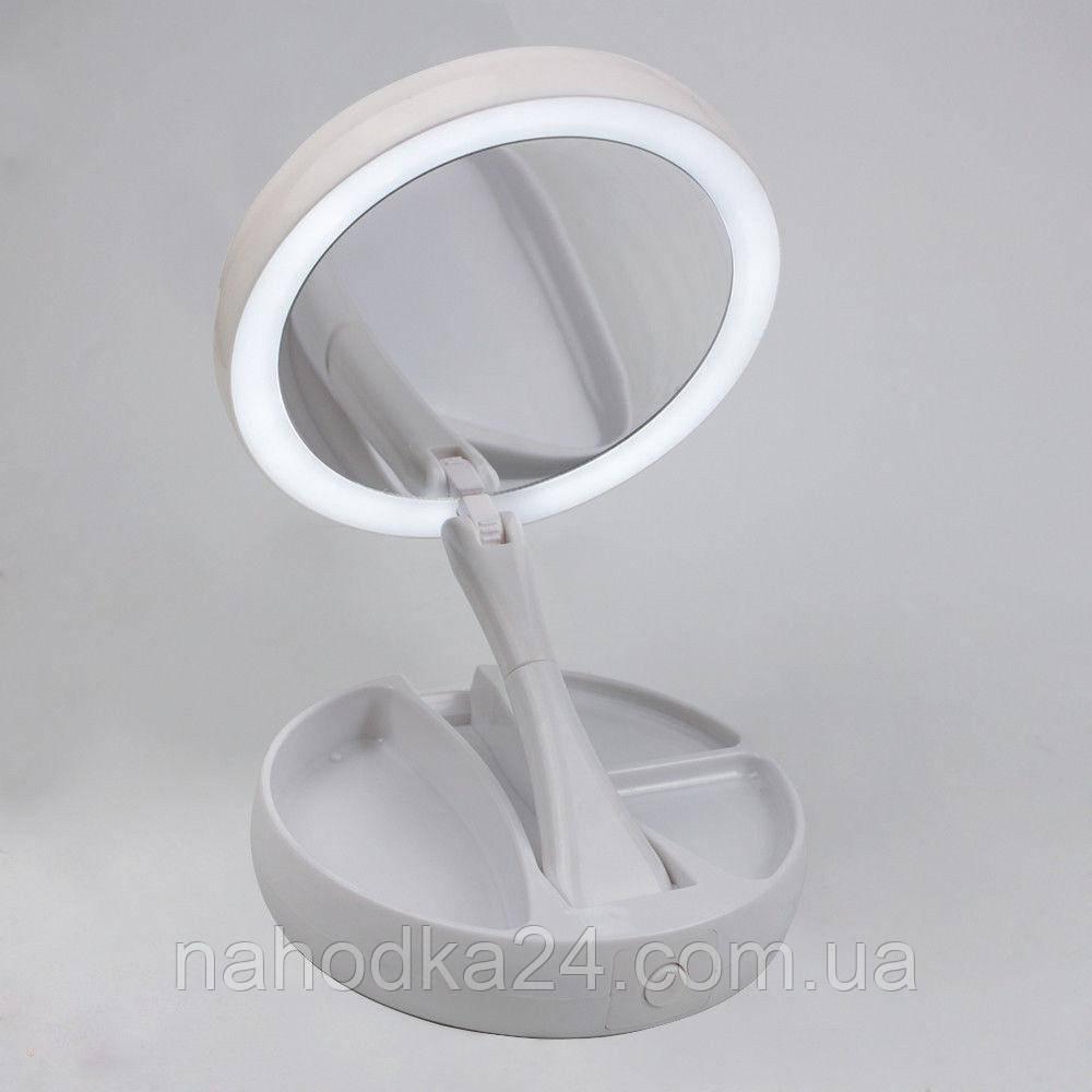 Зеркало с led подсветкойMy Foldaway Mirror для макияжа