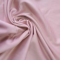 Сатин Люкс однотонный пыльный розовый, ширина 240 см
