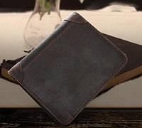 Мужской кожаный кошелек с натуральной кожи