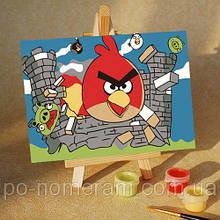 Картины по номерам (MA206) Angry Birds 17 (10х15)