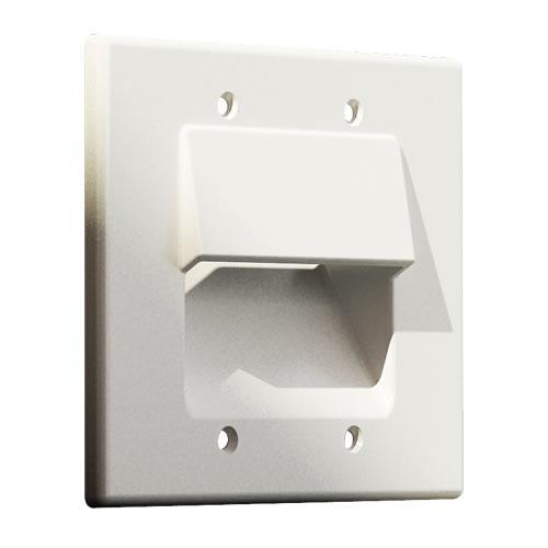 Панель для крепления и укладки кабеля на стене CS01-2