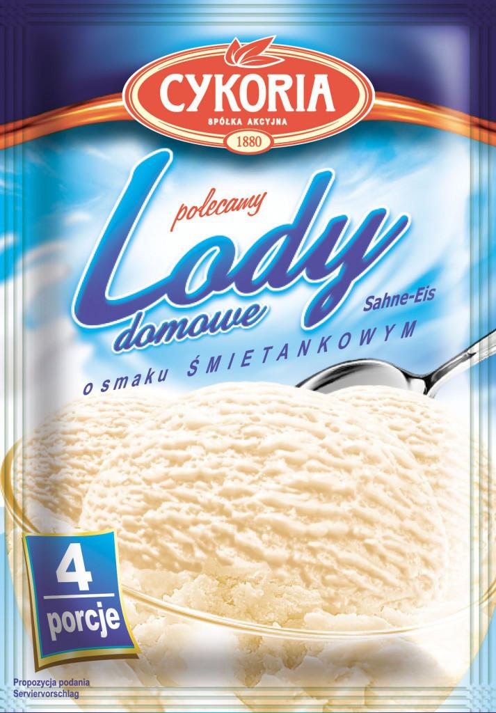 Lody domowe Cykoria порошок для приготування морозива з вершковим смаком 60 гр.