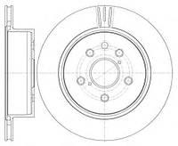 Диск тормозной LEXUS GS 04.2005- задняя (4243130290 | 61255.10)