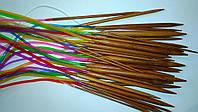 Набор спиц для вязания из бамбука 80 см