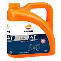Моторное масло Repsol Moto Racing HMEOC 4T 10W30 (4л)