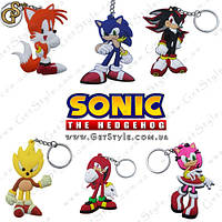 """Брелки Соник - """"Sonic Keychain"""" - 6 шт., фото 1"""