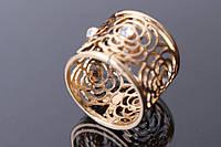 """Зажим для платка """"Beautiful"""" (золото) с камнями, зажим в виде розы, украшения для одежды и вещей, ювелирная бижутерия"""