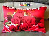 Подушка  8 марта, цветы
