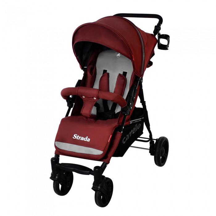 Коляска прогулочная CARRELLO Strada CRL-7305 Dark Red