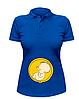 Женская футболка-поло Будущий рокер, фото 2