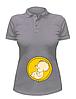 Женская футболка-поло Будущий рокер, фото 3
