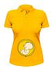 Женская футболка-поло Будущий рокер, фото 4