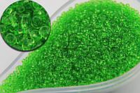 Бисер №19 для творчества, вес 50г, зеленый, Бисер, Вышивка бисером, Бисероплетение
