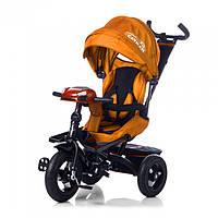Велосипед трехколесный TILLY Cayman с пультом T-381 Orange