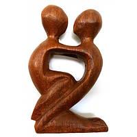 Настольная фигурка Влюбленные из дерева