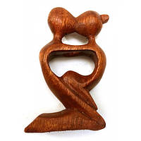 Фигурка Влюбленные настольная из дерева