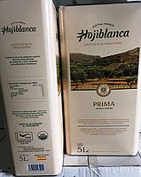 Оливковое масло первого отжима Hojiblanca Prima 5l (Испания).