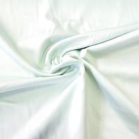 Сатин Люкс однотонный нежно-мятный, ширина 240 см, фото 1