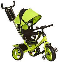Детский 3-х колесный велосипед M 3113-4 Turbo Trike Зеленый