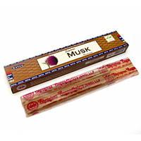 Натуральные пыльцевые благовония Supreme Musk (Муск) от фирмы Satya 15 г