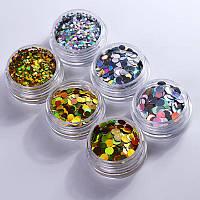 Камифубуки для декора ногтей Holografic, фото 1