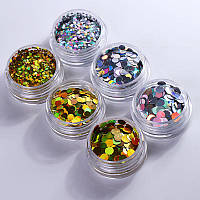 Камифубуки для декора ногтей Holografic