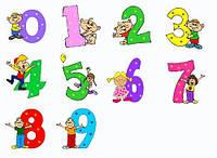 Цифры фольгированные с гелием, цифры из воздушных шаров тематические