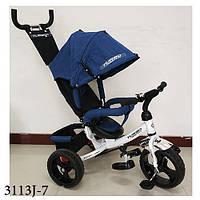 Велосипед Турбо Трайк 3113J детский трёхколёсный пена