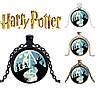 Подвеска  с изображением Даров Смерти из Гарри Поттера