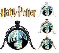 Подвеска  с изображением Даров Смерти из Гарри Поттера, фото 1