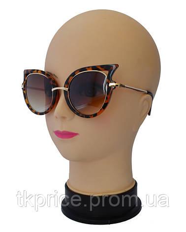 Женские солнцезащитные очки,тигровые, фото 2
