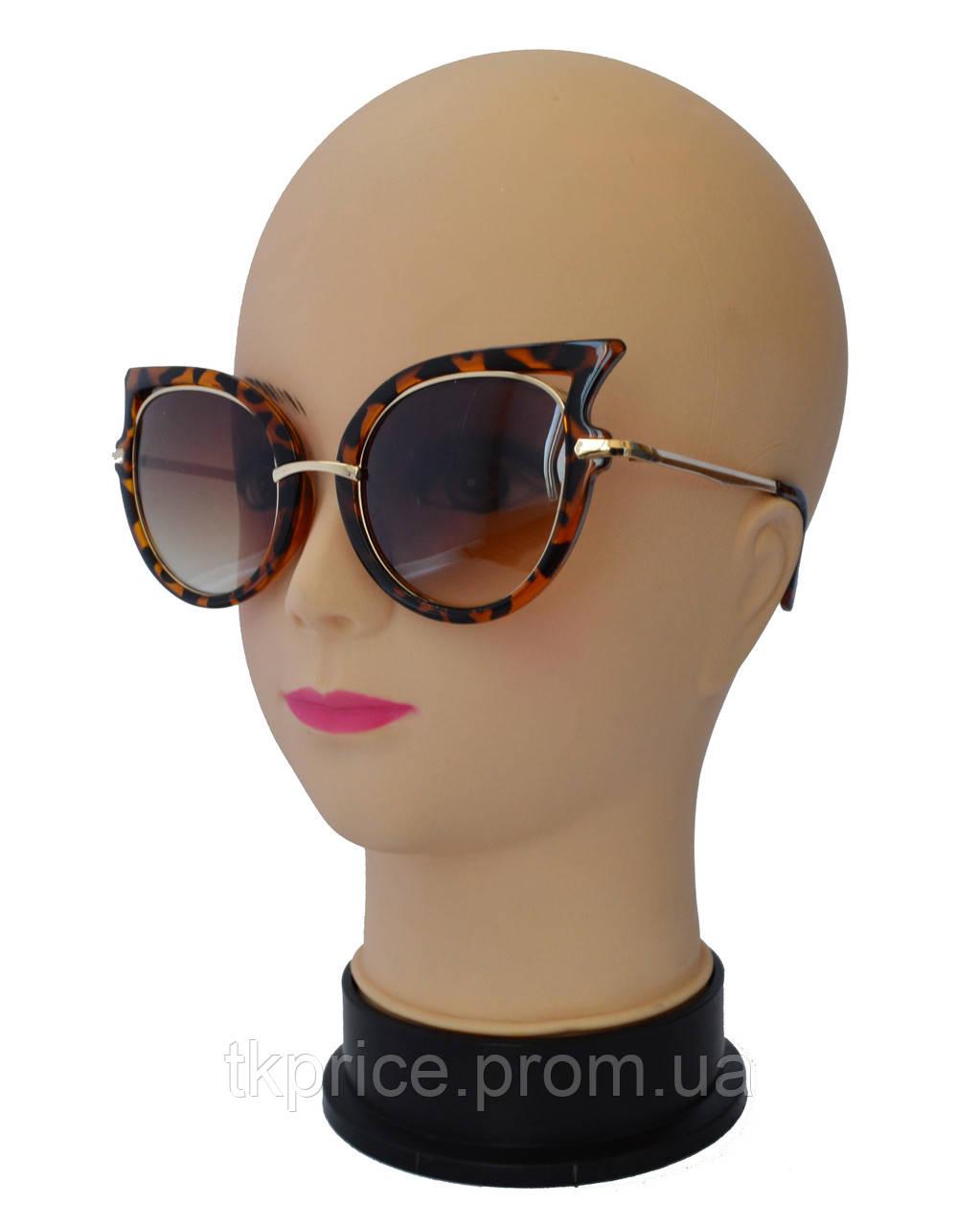 Женские солнцезащитные очки,тигровые