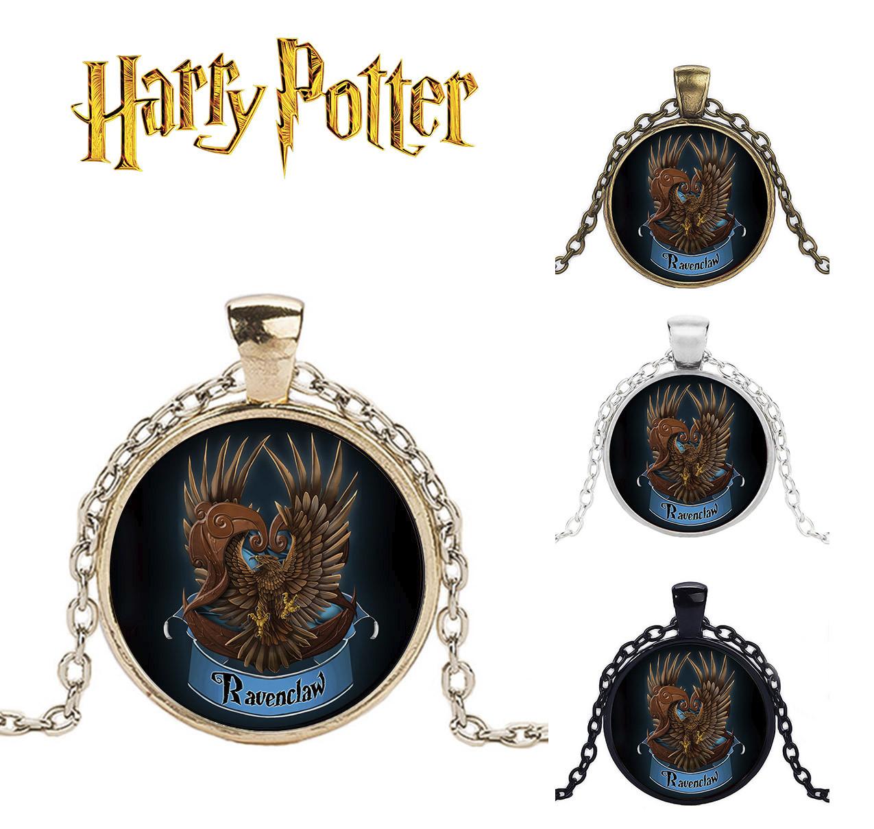 Подвеска  с изображением герба факультета Пуффендуй Когтерван из Гарри Поттера
