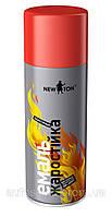 Краска термостойкая аэрозольная NewTon Hi-Temp серебристая, 400мл