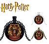 Подвеска  с изображением герба факультета Гриффиндор Хогвартса из Гарри Поттера