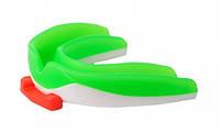 Капа для зубов спортивная (white\light green)