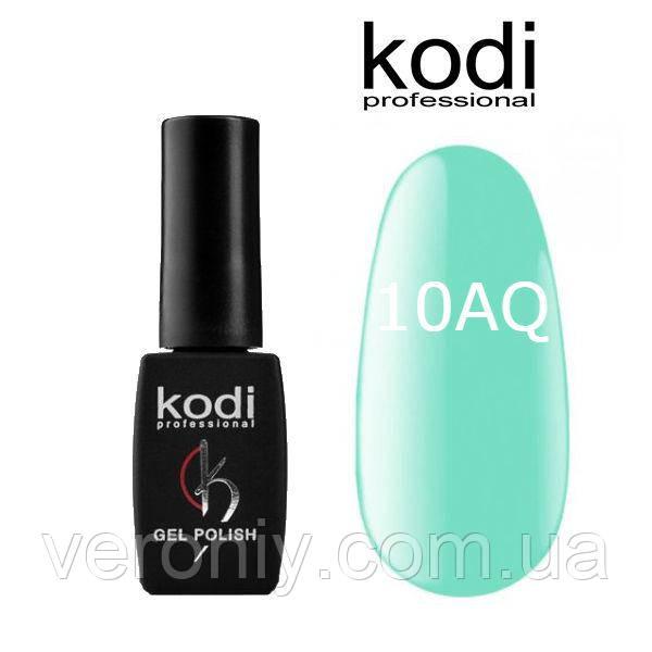 Гель лак Kodi 10AQ, 8 мл
