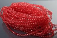 """Декоративный регилин """"Gloriosa"""" для рукоделия, красный, длина 26м, диаметр 8мм, Регилин для декора, Лента для творчества"""