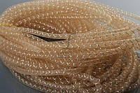 """Декоративный регилин """"Morina"""" для рукоделия, коричневый, длина 26м, диаметр 8мм, Регилин для декора, Лента для творчества"""