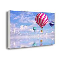Фото картина на холсте с принтом Воздушные шары