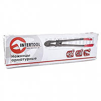 Ножницы арматурные 450 мм, Cr-V, max 5 мм INTERTOOL HT-0152