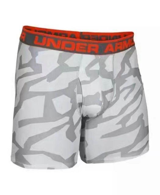 Трусы-боксеры Under Armour Original Boxerjock 1242916-2 XXL Белые с серым (1242916-2)