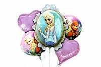 """Воздушные шары """"Мультяшки"""", 5шт, металлизированная лавсановая пленка, Надувные шарики, Набор шариков"""