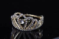 Диадема (цвет: золото) в камнях, украшение для головы, диадема -корона, украшение для невесты