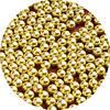 Шарики декоративные золото ( 1-2мм,.2-3мм) 10г.