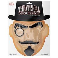 Набор Английского Джентльмена (монокль, усы, брови, борода)
