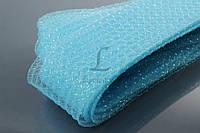"""Декоративный регилин """"Catopsis"""" для рукоделия, голубой, длина 25м, диаметр 7мм, Регилин для декора, Лента для творчества"""