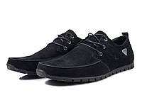 Мужские кожаные мокасины  черные 40, 41, 42, 43, 44, 45