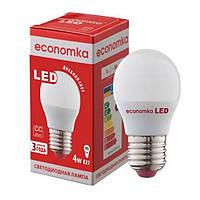 Economka LED G45 4w E27 2800/4200К